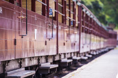 Puffing Billy steam train royalty free stock image