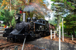 Puffing Billy steam train at Emerald Lake Royalty Free Stock Image