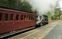 Puffing Billy Royalty Free Stock Photography