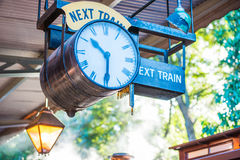 Puffing Billy Train Timetable royalty free stock image