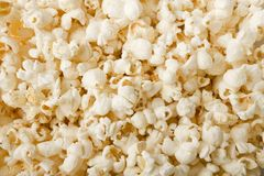 Puffs of good buttered popcorn Stock Image