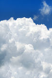 Puffy big cloud. Big Puffy cloud in the blue sky Stock Photos