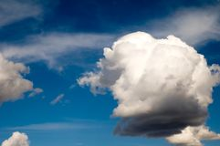Puffy cloud Stock Photos