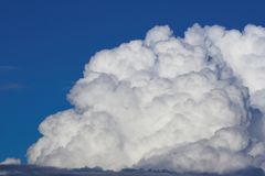 Puffy cloud. Puffy storm cloud Royalty Free Stock Images
