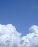 Puffy cloud texture Stock Photos