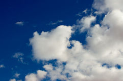 Puffy Clouds Royalty Free Stock Photos
