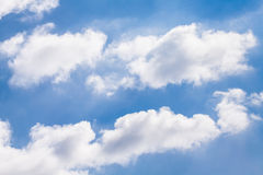 Puffy clouds Royalty Free Stock Images