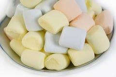 Puffy marshmallows Stock Photos