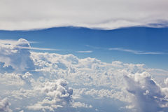 Puffy white cloud  sky Stock Images