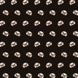Pug - emoji pattern 02 vector illustration