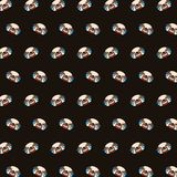 Pug - emoji pattern 03 vector illustration
