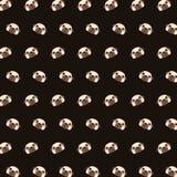 Pug - teste padrão 16 do emoji ilustração do vetor