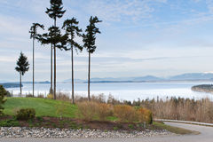 Puget Sound from Camino Island Royalty Free Stock Photos