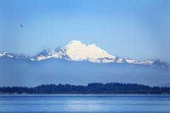 Puget Sound e panettiere di Mt Fotografie Stock Libere da Diritti