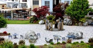 Puget Sound Naval Shipyard Memorial Plaza, Bremerton stock images