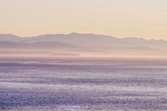 Puget Sound and Olympic Mtns. Stock Photos