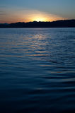 Puget Sound Sunset Stock Image