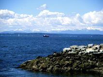 Puget Sound stock photography