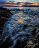 Puget Sound, Washington State Stock Photo