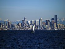 Puget Sound Yachting Stock Photography