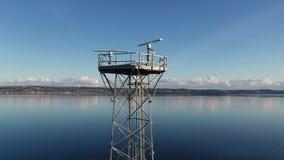 Puget Washington sano los E.E.U.U. de la torre de la estación meteorológica del radar