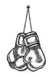 Pugilato, sport, guantoni da pugile, arti marziali Fotografie Stock Libere da Diritti