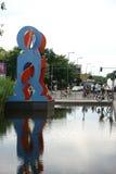 Pugilistas intitulados da escultura Imagens de Stock