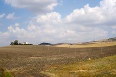 Between Puglia and Basilicata (Italy) Stock Image