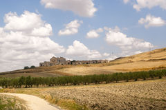 Between Puglia and Basilicata (Italy) Stock Photo
