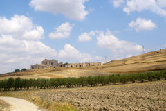Between Puglia and Basilicata (Italy) Stock Photos