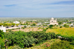 Puglia lands seen from Ostuni Stock Photo