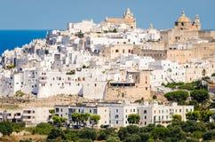 Puglia, Ostuni Foto de archivo