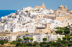 Puglia, Ostuni Stock Photo