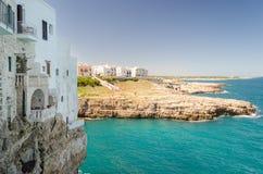 Puglia, Polignano a Mare Royalty Free Stock Photo