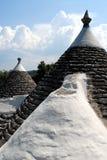 Puglia, trullo, tipical roofs Stock Image