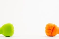 Pugno colorato Fotografia Stock