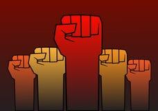 Pugno di rivoluzione Fotografia Stock Libera da Diritti