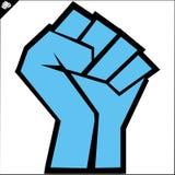 Pugno. le arti marziali simbolizzano, simbolo. Vettore. Fotografie Stock