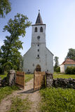 Puhalepa Church, Hiiumaa island, Estonia Stock Photos