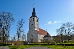 Puhalepa kyrka Royaltyfria Foton