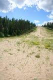 Puhtolova berg i sommaren Royaltyfria Foton