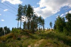 Puhtolova berg i sommaren Royaltyfria Bilder