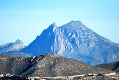 Puig Campana Mountain Royalty Free Stock Photos