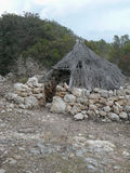 Puig de sa Morisca Moorish Peak archaeological park in Majorca Stock Image