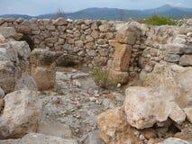 Puig de sa Morisca Moorish Peak archaeological park in Majorca Royalty Free Stock Images