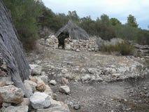 Puig de sa Morisca Moorish Peak archaeological park in Majorca Stock Photography