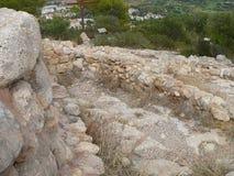 Puig DE sa Morisca Moors Piek archeologisch park in Majorca stock fotografie