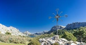 Puig major mountain in the Sierra de Tramuntana Royalty Free Stock Image