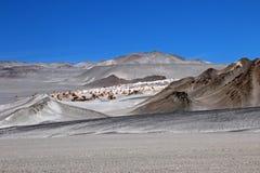 Puimstenen in Campo DE Piedra Pomez, Catamarca, Argentinië Stock Afbeeldingen
