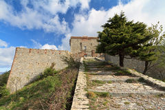 Puin castle, Genova, Italy Royalty Free Stock Photo